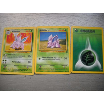 Cartas Pokemon Nidorino + Regalos