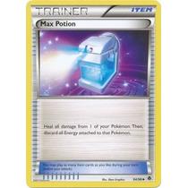 Cartas Pokemon Trainer Item Max Potion No Foil Mint