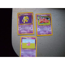 Cartas Pokemon Hypno Fossil 1° Edición + Regalos