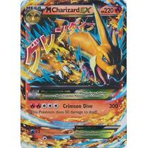 Cartas Pokemon Mega M Charizard Y Japones Ex Foil Mint