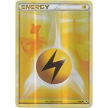 Cartas Pokemon Energia Rayo Trueno Lightning Holo Foil Mint