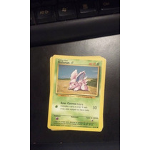 Cartas Pokemon Nidoran Base Set 55/102 Mint