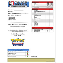 Pokemon Tcg Online - Mazo Night March Clásico Listo P/jugar!
