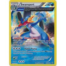 Cartas Pokemon Swampert Holo Foil Full Art Mint