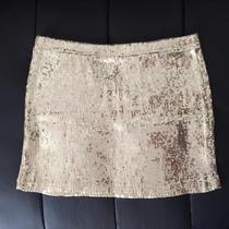 Pollera Lentejuelas Y Short Tejido Crochet Nuevos!! $150 C/u