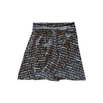 Minifalda De Lycra Negra - Envio Gratis