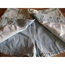 Pollera Pantalon Short Marca Scombro Talle Xx