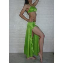 Straples Relleno Pollera Baile Danza Arabe Lycra D Maya Opac