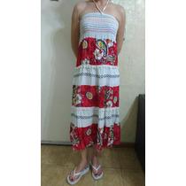 Vestido Pollera Playero