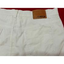 Mini De Jeans Blanca Checa
