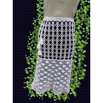 Falda - Pollera Tejido Crochet Primavera Verano