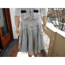Pollera Falda Vestido De Reconocida Marca Talle S ( 6 )