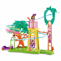 Polly Pocket - Safari Aventura En Tirolesa