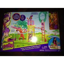 Polly Pocket Safari Aventura En Tirolesa - Original Mattel