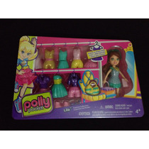 Polly Pocket Lila Coleccion De Modas - Original Mattel