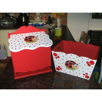 Caja Portacosmeticos + Pañalera