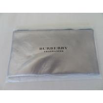 Neceser Cuero Dorado Burberry Original Importado
