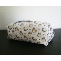 Neceser Cartuchera Porta Cosmeticos Anime Cute Totoro
