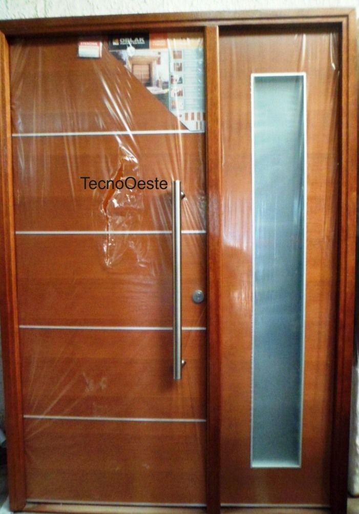 Precios de puertas de madera perfect los precios de for Puertas interiores de madera con vidrio
