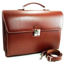 Maletin Cuero Portafolio Attache Porta Notebook Fabricante!!