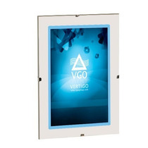 Portaretrato Vgo Clip De Vidrio Sin Marco 10x15 Liquido