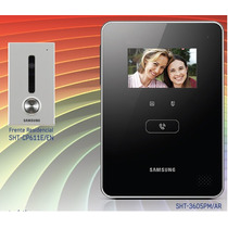 Kit Portero Visor Samsung Sht-3605 - Frente De Embutir Infra