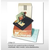 Fuente Para Portero Eléctrico Garins 2/3 Amplif. 5 Telefonos