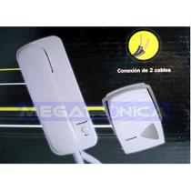 Portero Electrico Pronext Pe-101b Con 1 Telefono 2 Cables