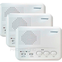 Intercomunicador Commax Wi-3sn 3 Puestos Conexion 220v