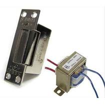 Kit Cerradura Electrica C/ Transfo P/ Cualquier Tipo Portero