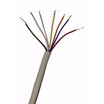 Cable Portero Electrico Alarma Telefono 100mt 3pares 7hilos