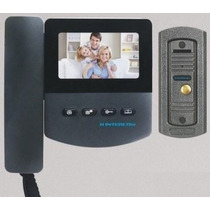 Portero Visor 4.3 Color Lcd Kit Ampliable A 2 Monitores Gt