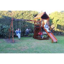 Mangrullos Infantiles C/ Toboganes, Trepadores Y Hamacas -