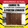 Porton Levadizo Herrajes Kit Conversion Para Corredizo Curvo