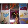 6 Postales De La Colección Personajes Películas Disney.