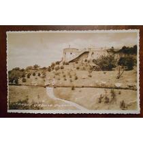 Foto Postal Antigua Parque Urquiza Parana Argentina 1943