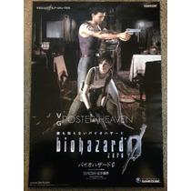 Poster De Tela Biohazard 1,00 Mts X 0;75 Mts Zona Devoto