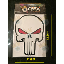 Calcos Punisher Calavera - Afex Calcos