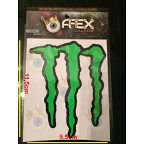 Calcos Monster Garra - Afex Calcos