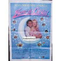 Afiche Luna De Cristal - Xuxa - Selvagem Big Abreu - 1990