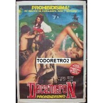 Afiche Decameron Prohibidísimo Dado Crostarosa 1972