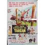 Afiche Los Tres Desafíos De Tarzan Jock Mahoney 1963