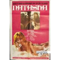 Afiche Natasha Thelma Stefani Enzo Viena Edgardo Suárez 1974