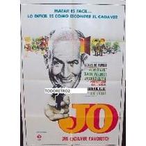 Afiche Jo, Mi Cadáver Favorito Louis De Funès 1971