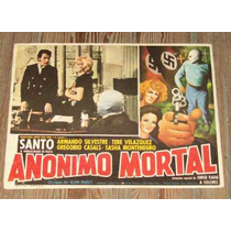 El Santo Luchador Lobby Card Mexicano