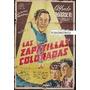 Afiche Las Zapatillas Coloradas Alfredo Barbieri Pelele 1952