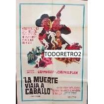 Afiche La Muerte Viaja A Caballo - Lee Van Cleef - 1967