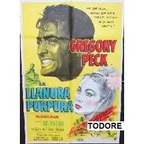 Afiche La Llanura Púrpura Gregory Peck, Win Min Than 1954