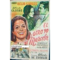 Afiche El Otro Yo De Marcela Delia Garcés Alberto Closa 1950