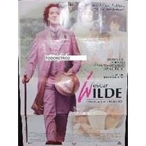Afiche Oscar Wilde Stephen Fry Jude Law Vanesa Redgrave 1997